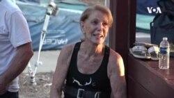 美国86岁妇女创造空中飞人传奇