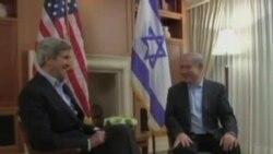 克里会晤巴勒斯坦人领袖阿巴斯