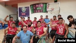 د افغانستان د ویلچر باسکتبال لوبډله