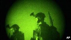 AQSh kuchlari Afg'oniston armiyasi bilan hamkorlikda tungi reydlarni amalga oshirib keladi