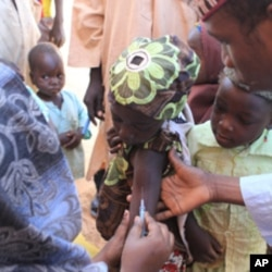 Vaccinations in Nigeria. Countries in sub-Saharan Africa accounted for 36 percent of global measles deaths in 2010.