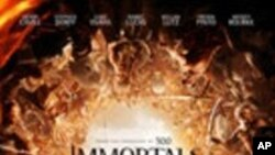 Immortals ภาพยนต์แนวเทพนิยายกรีกโบราณเพิ่งเข้าใหม่ฟาดฟันคู่ต่อสู้อยู่ที่อันดับหนึ่ง