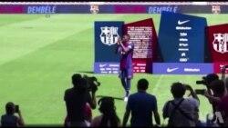 """Dembélé : """"Je ne suis pas là pour remplacer Neymar"""" (vidéo)"""