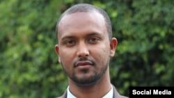 Yonatan Tesfaye, ancien porte-parole du parti d'opposition éthiopien Semayawi (Blue Party)