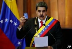 Venesuelanın prezidenti Nikolas Maduro