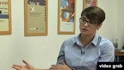 Sandra Orlović, direktorka Fonda za humanitarno pravo (arhivski snimak)