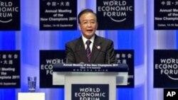溫家寶在大連世界經濟論壇講話