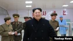 북한 김정은 국방위원회 제1위원장 (자료사진)