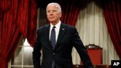 Vice President Joe Biden is seen in the Old Senate Chamber on Capitol Hill in Washington, D.C., Jan. 3, 2017.