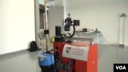 Building inspecting robot