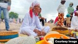 Một người đàn ông Chăm Bàni. Photo Luu Hoang Diep