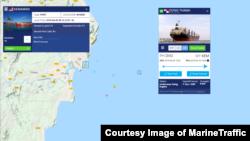 인도네시아에서 북한산 석탄을 실은 것으로 의심되는 파나마 선박 '동탄'호가 말레이시아 케마만 항 인근 해역에 도착한 것이 선박 추적시스템 '마린트래픽(MarineTraffic)'을 통해 확인됐다.