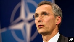 NATO Genel Sekreteri Stoltenberg, Türkiye'nin talebiyle toplanan Kuzey Atlantik Konseyi toplantısı sonrasında basına açıklama yaptı.