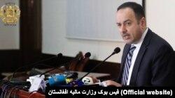 اکلیل حکیمی، وزیر مالیۀ افغانستان