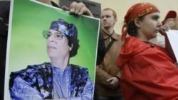 معمر قذافی: هنوز در لیبی هستم