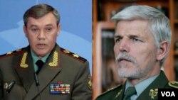 Валерий Герасимов и Петр Павел