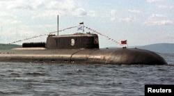 Awak kapal selam nuklir Rusia