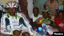 세계 정상을 꿈꾸는 케냐 자전거 선수들