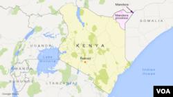 Peta provinsi Mandera, Kenya