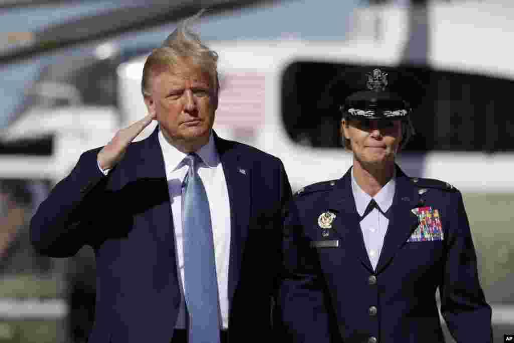 پرزیدنت ترامپ کاخ سفید را به مقصد شهر پیتسبرگ در ایالت پنسیلوانیا ترک کرد. او در کنفرانسی در این شهر سخنرانی خواهد کرد.