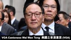 香港法律界選委查錫我 (攝影:美國之音湯惠芸)