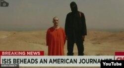 Kẻ khủng bố trùm đầu hành quyết nhà báo Mỹ James Foley nói giọng Anh