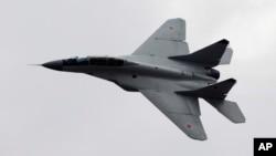 Rusiyaya məxsus MiG-29 təyyarəsi