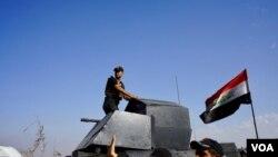 Pasukan Irak siap memasuki kota Mosul hari Senin (31/10) malam.