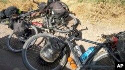 (ARŞİV) IŞİD 29 Temmuz 2018'de Tacikistan'da 4 yabancı bisikletçinin öldürüldüğü saldırıyı üstlenmişti