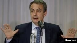 El representante invitado de la Unión de Naciones Sudamericanas (Unasur), José Luis Rodriguez Zapatero, llegó nuevamente a Venezuela para participar de este encuentro.