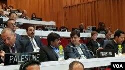 یونیسکو کانفرنس میں شریک پاکستانی وفد