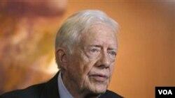 Mantan Presiden AS Jimmy Carter (foto: dok) memimpin delegasi peninjau internasional bagi referendum di Sudan Selatan.