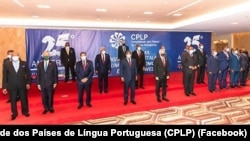 Chefes de Estado e de Governo da Comunidade dos Países de Língua Portuguess (CPLP), Luanda, Angola