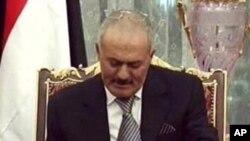 یمن: سبکدوش صدر صالح امریکہ روانہ