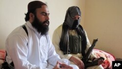 In this photo taken on July 28, 2011, Waliur Rehman, the Pakistani Taliban's number two commander, talks to the Associated Press in Shawal area of South Waziristan along the border with Afghanistan.
