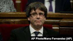 Лидер Каталонии Карлес Пучдемон