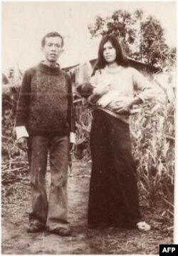 NDS và Phượng với con trai 1987