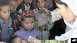 پاکستان، فاټا کې د پولیو خلاف کمپین صبا شورو کیږي
