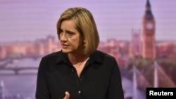 英国内政大臣拉德参加BBC节目(2017年9月17日)