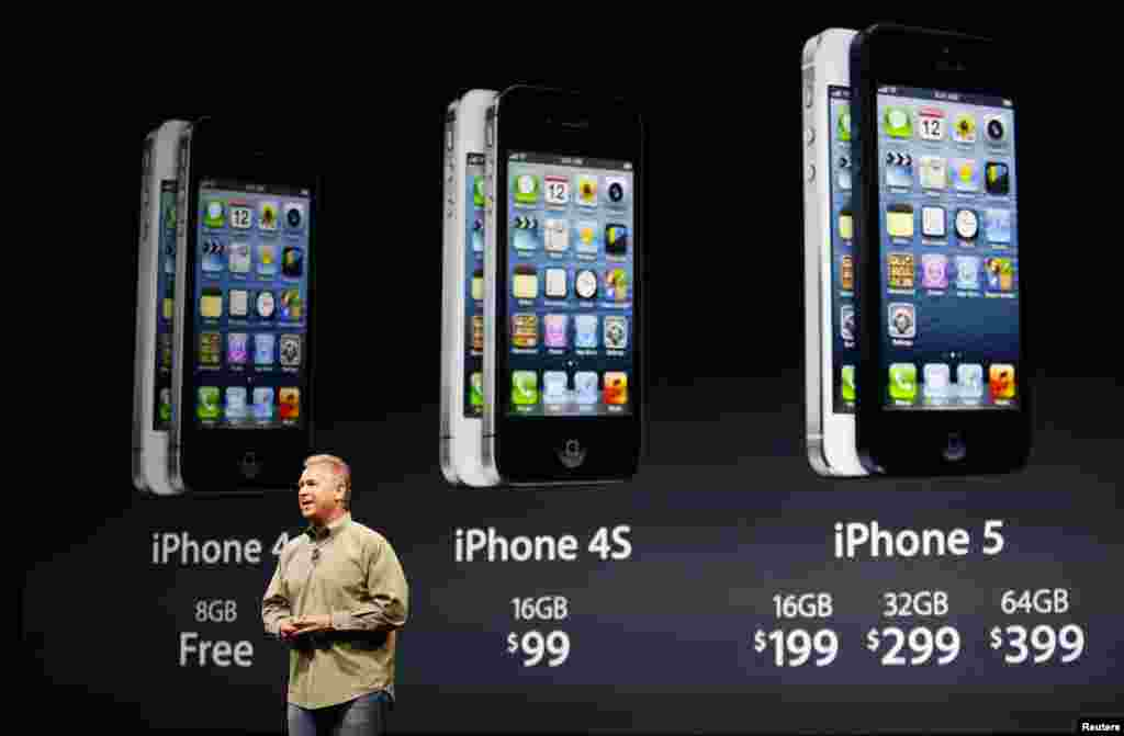 El iPhone 5 de 16GB tendrá un valor de 199 dólares. La versión de 32GB costará $299, mientras que la de 64GB se venderá a $399.