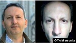 تصویر سمت راست، عکسی است که آقای جلالی به تازگی از زندان برای خانواده خود فرستاده است.