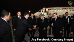 د افغانستان جمهور رئیس د چهارشنبې په ورځ ترکمنستان ته سفر وکړ.