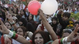 Huge Rally in Pakistan for Women