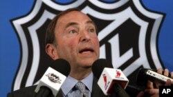 Комиссионер НХЛ Гэри Беттмэн