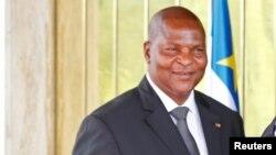 Le président Faustin-Archange Touadéra de la Centrafrique, 7 novembre 2016.