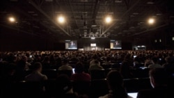 Packed Interactive Keynote room at the 2010 South by Southwest