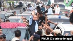 تصاویر: نواز شریف کے سفرِ لاہور کا پہلا روز