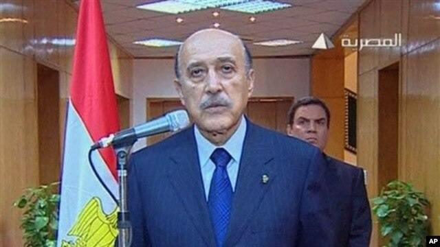 Mubarak aide Omar Suleiman (file photo)