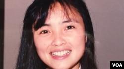 Diễn viên điện ảnh Lê Thị Hiệp năm 1994 (Ảnh: Bùi Văn Phú)