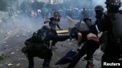 Sukobi na ulicama Hong Konga, 1. oktobar 2019.